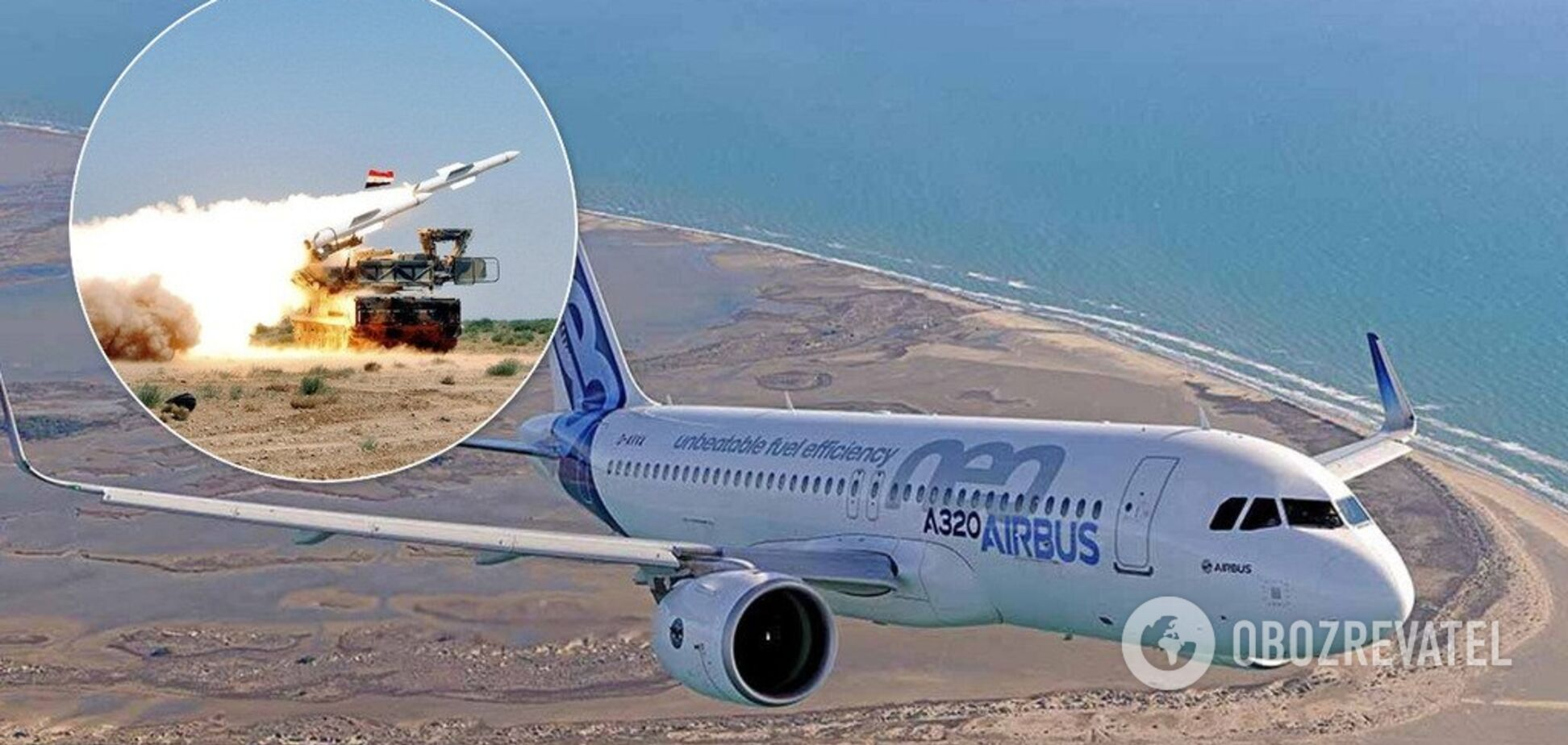 У Сирії ледь не збили літак зі 172 пасажирами: Росія звинуватила Ізраїль