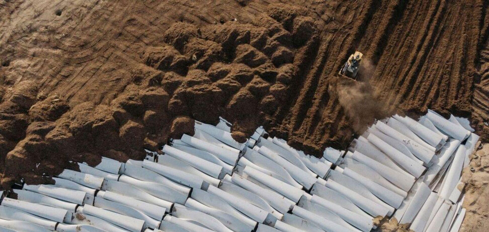 Кладовище вітру: в США знайшли полігон для утилізації гігантських вітрогенераторів