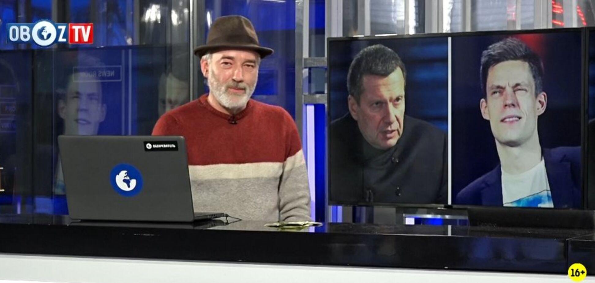 ПОРЄБРІК: Соловйов публічно обізвав Дудя 'тупим'