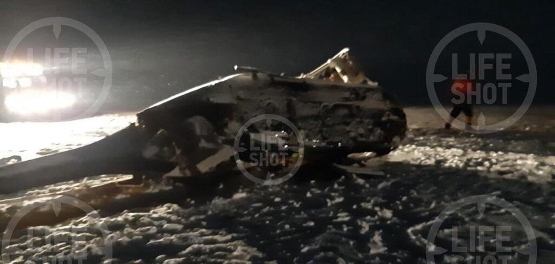 У Росії через падіння вертольота загинув депутат Держдуми: фото та відео НП