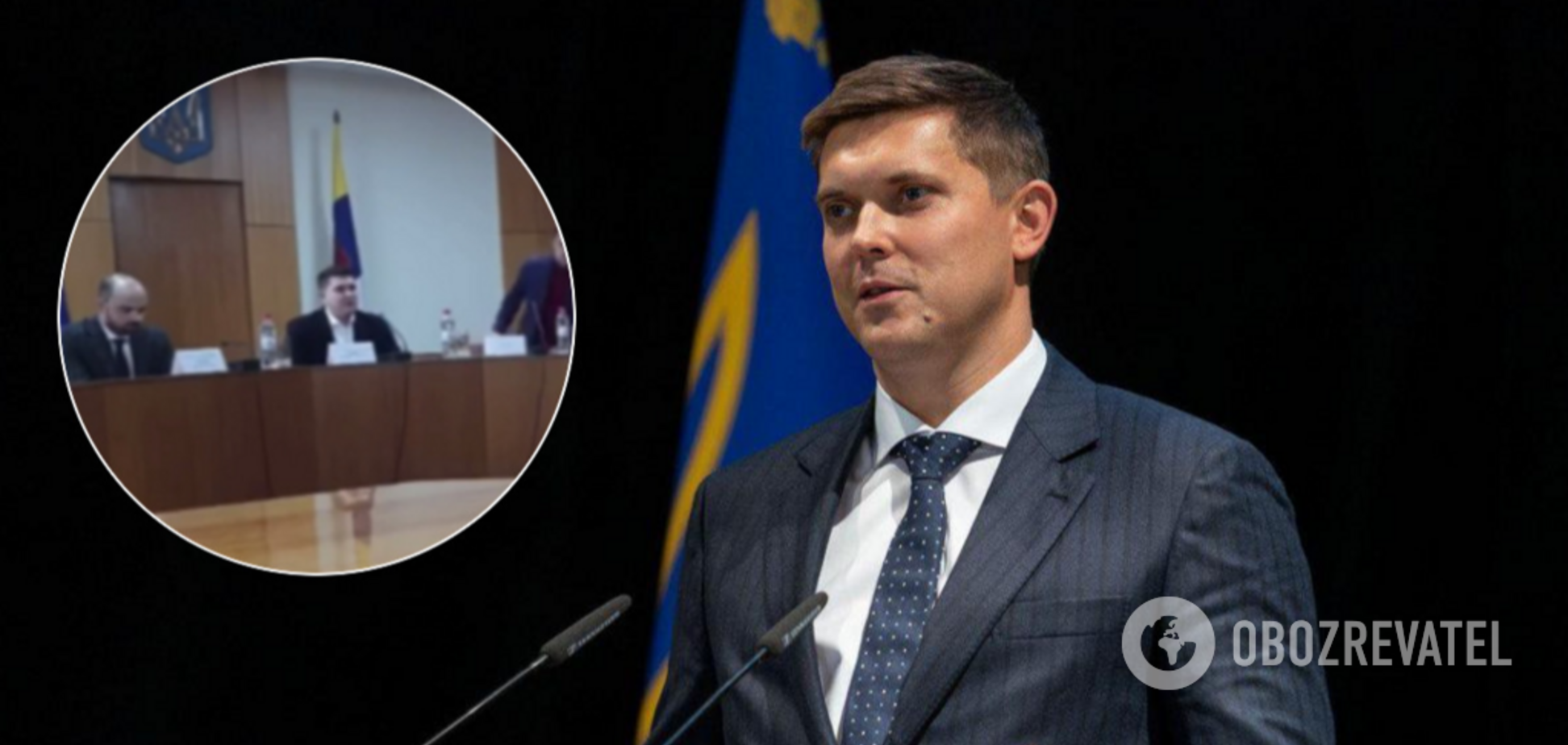 Глава Одесской ОГА Куцый устроил террор подчиненным