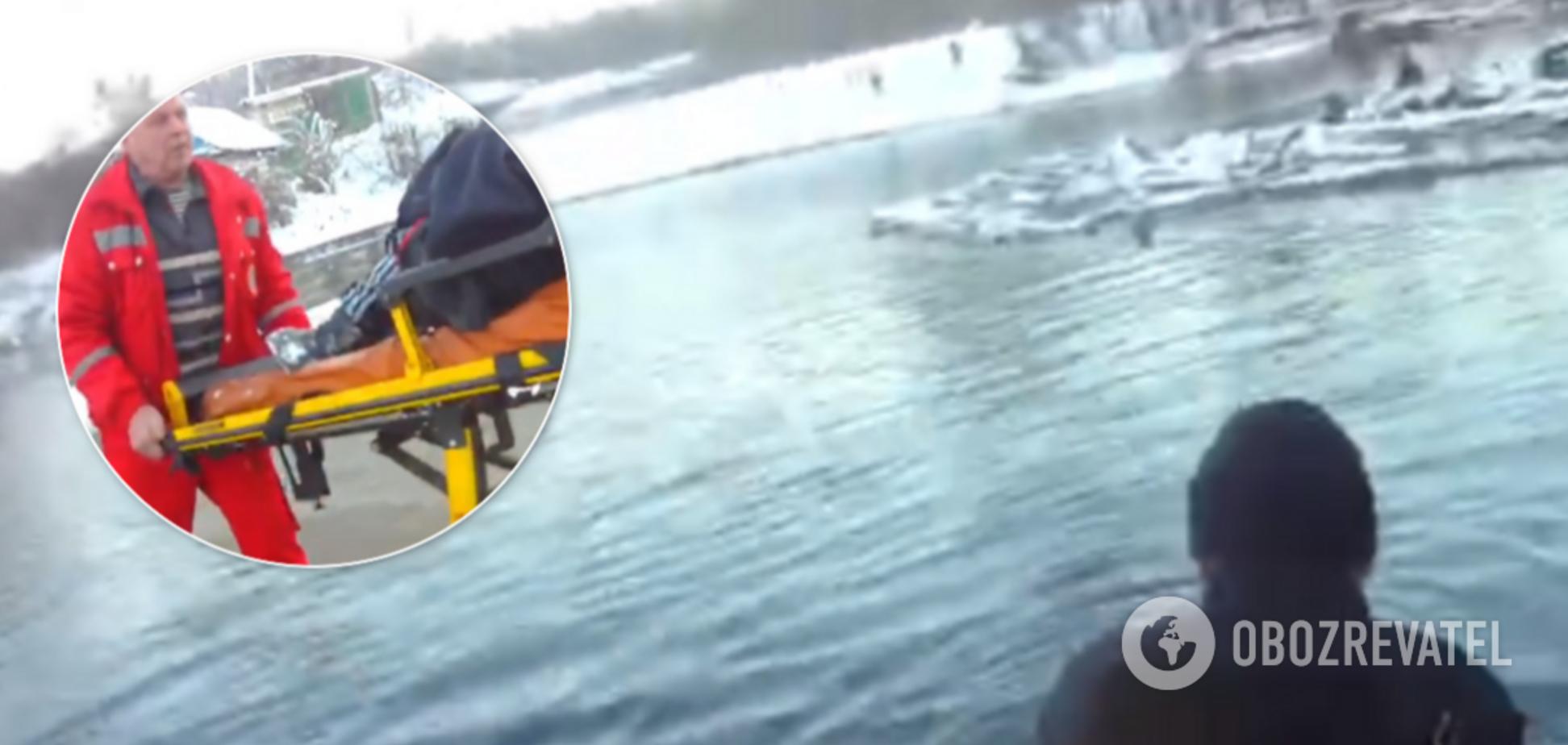 Патрульні Луганщини показали відео диво-порятунку