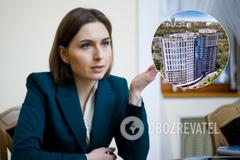 У Новосад нашлась квартира в Киеве за миллион
