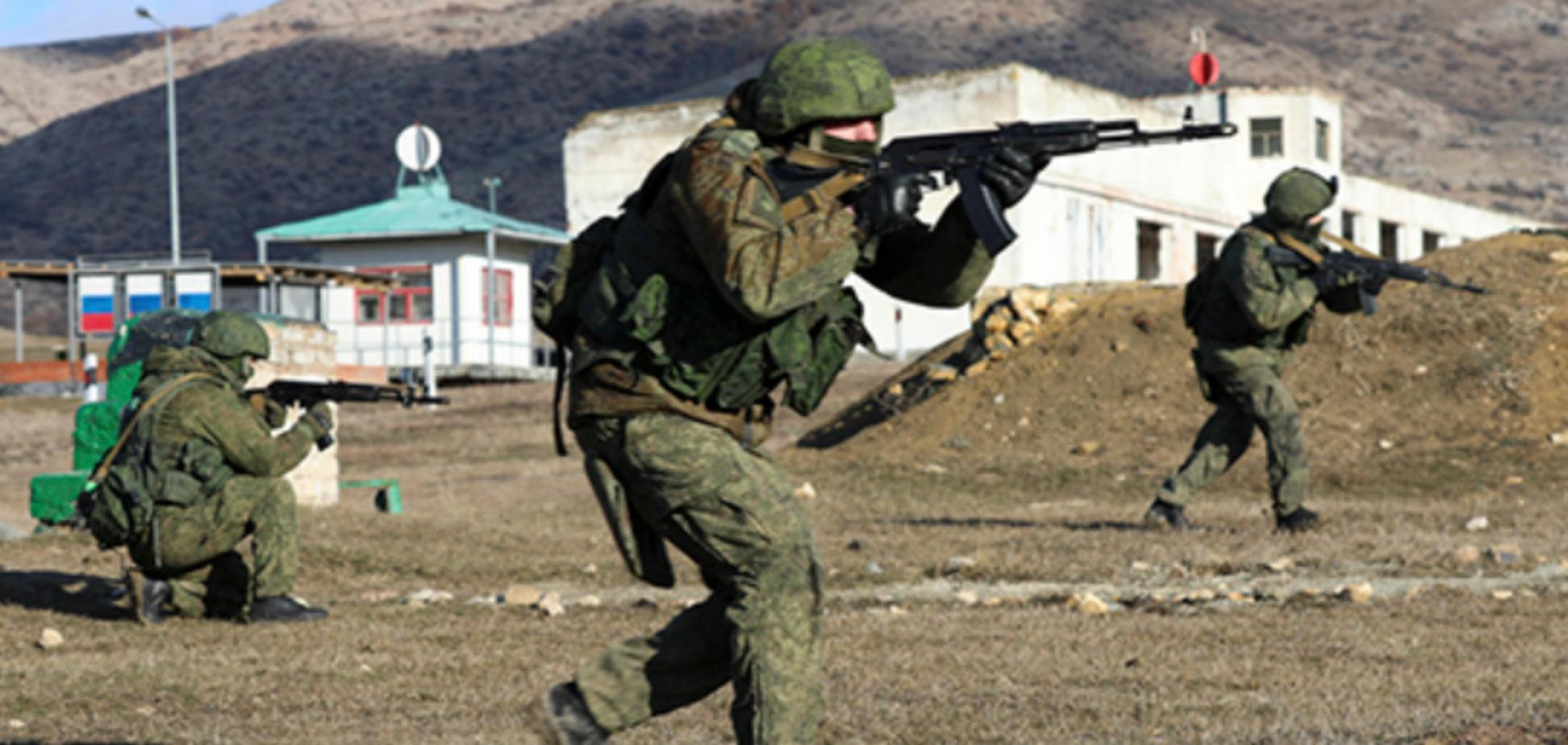 Навчання окупантів у Криму
