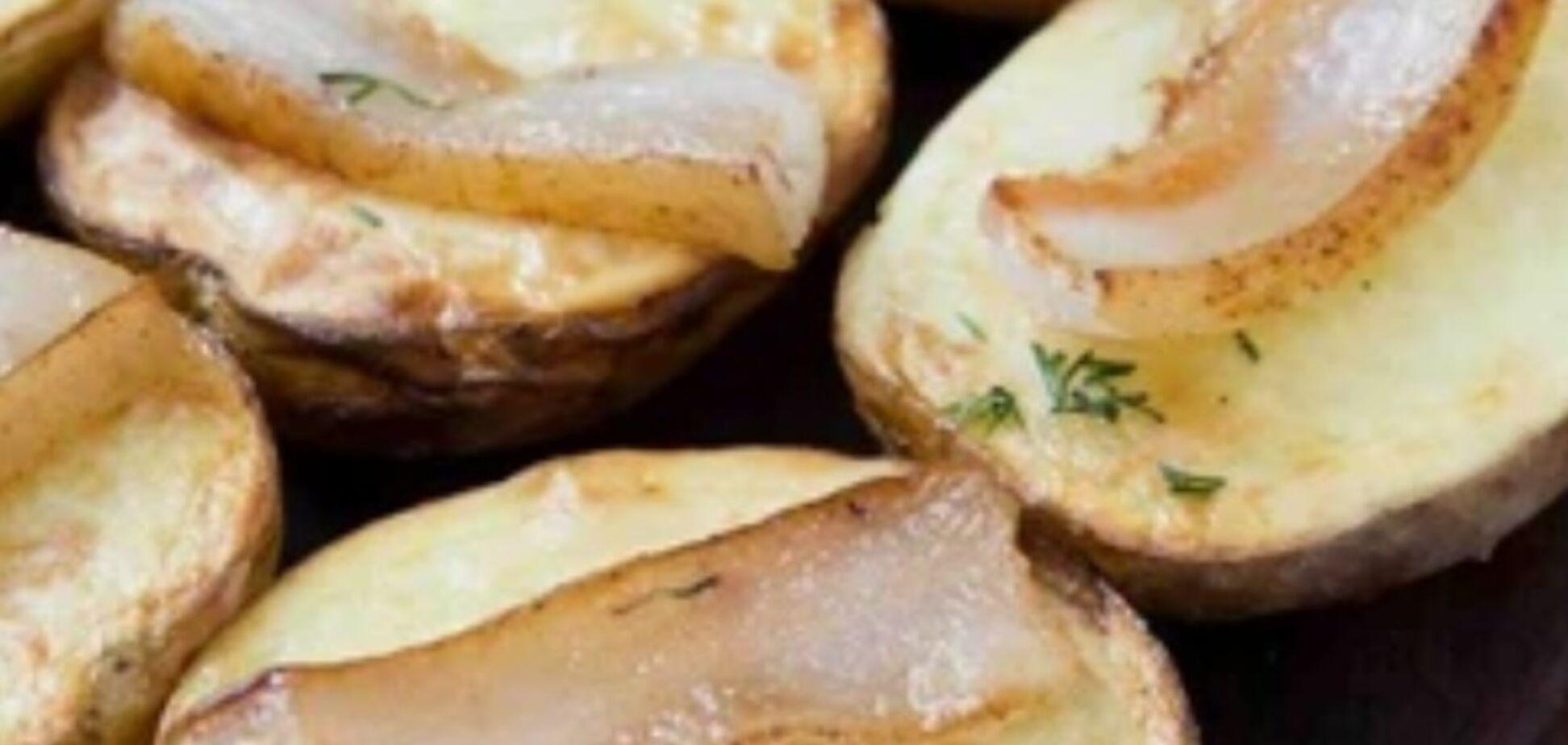 Рецепт по-справжньому смачної картоплі з салом в духовці