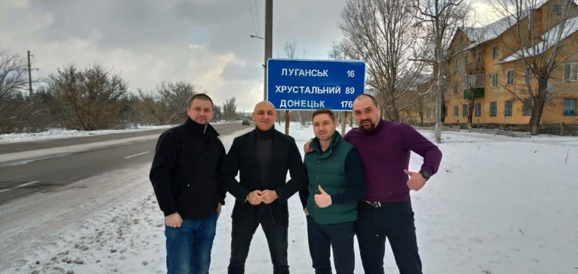 Беркутовцы, которых передали 'Л/ДНР', вернулись в Киев