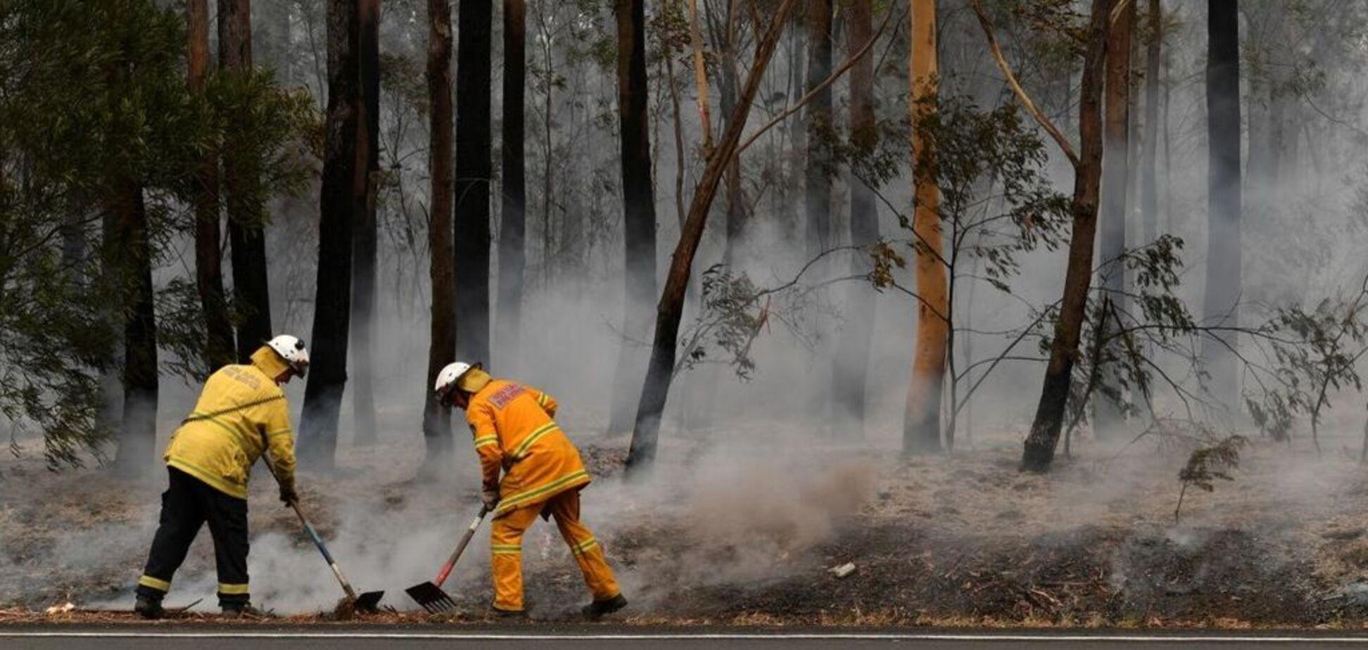 Пожежі в Новому Південному Уельсі загасив злива