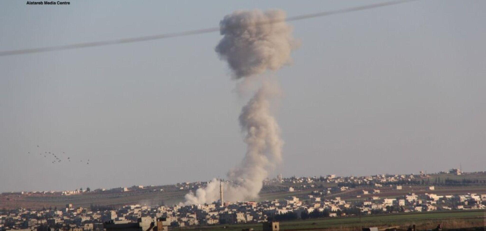 Удар по Кафр Норану в Сирії