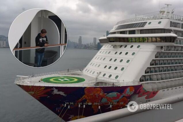 Українців можуть звільнити з круїзного лайнера World Dream біля берегів Японії
