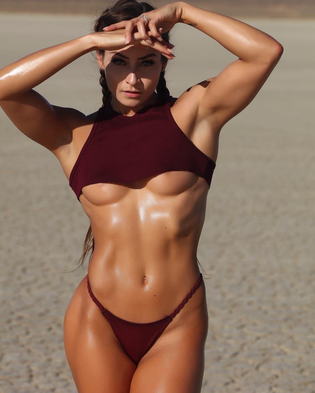 Naked bikini fitness models