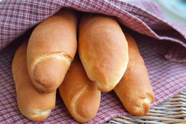 Класичні булочки для хот-дога