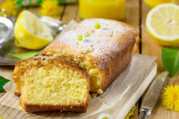 Лимонний кекс