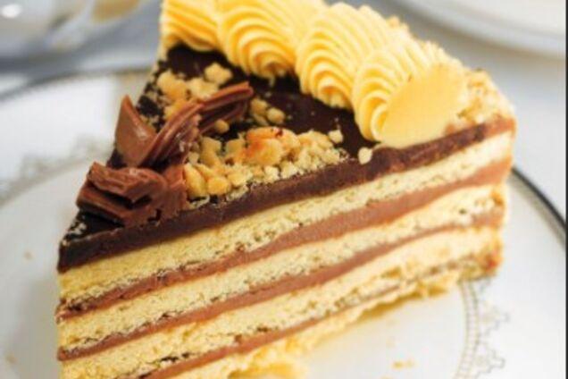 Торт з пісочного тіста