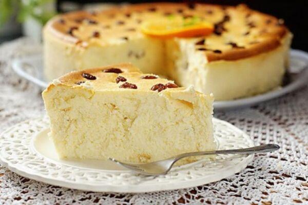 Сирний пиріг у духовці