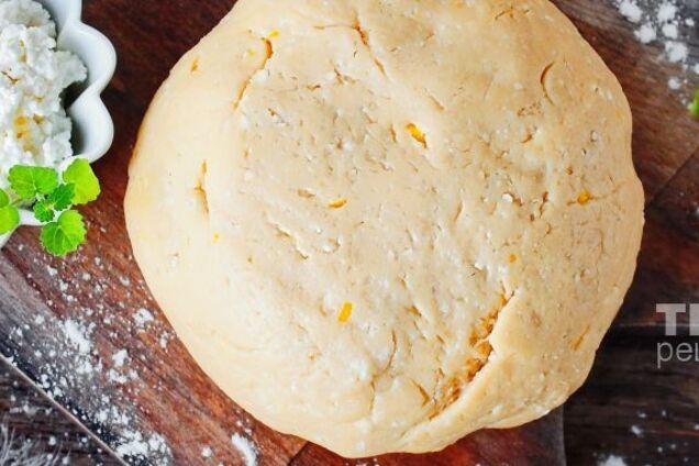 Сирне тісто для пиріжків
