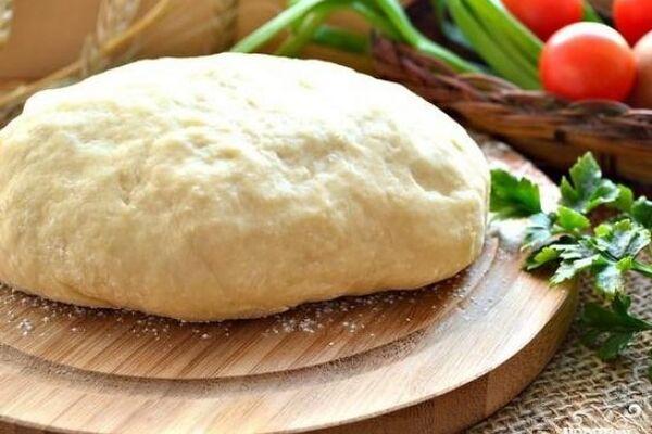 Тесто для пирожков без дрожжей