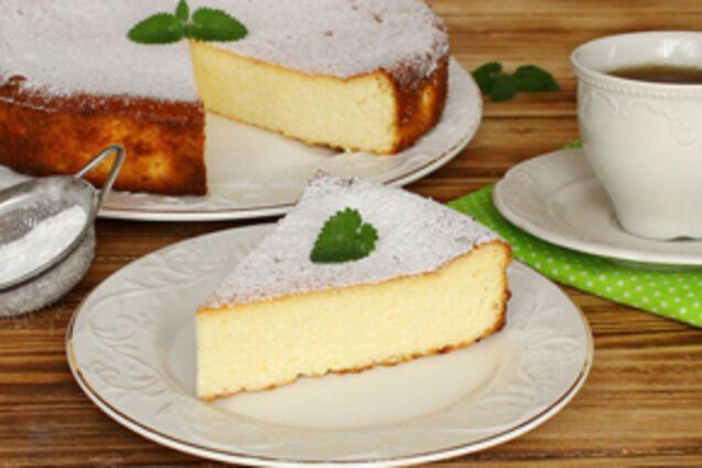 Пиріг з домашнім сиром