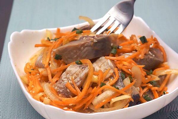 Салат по-корейськи