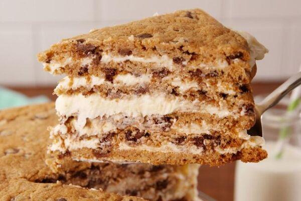 Торт з печива