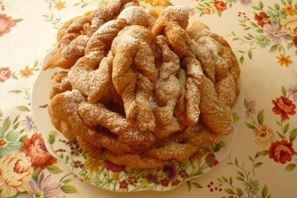 Хворост печенье