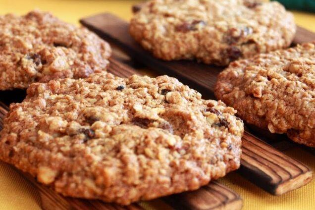 Вівсяне печиво без борошна