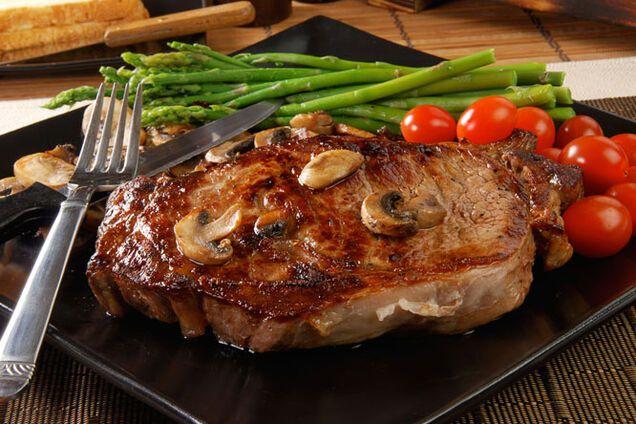 Біфштекс яловичий
