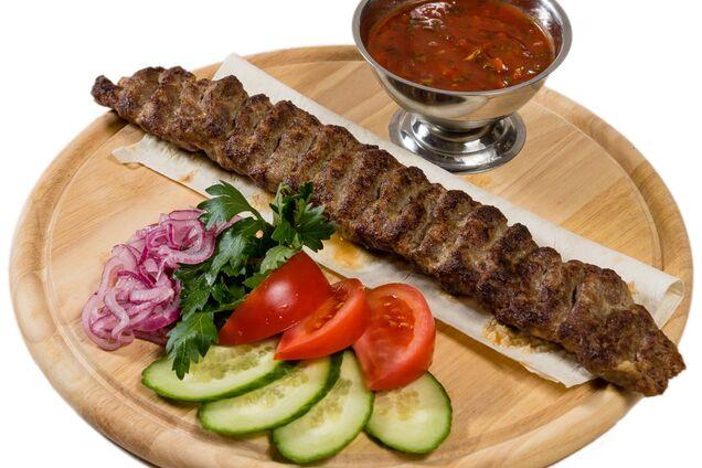 Люля-кебаб із яловичини