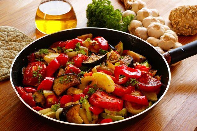 Соте з овочів