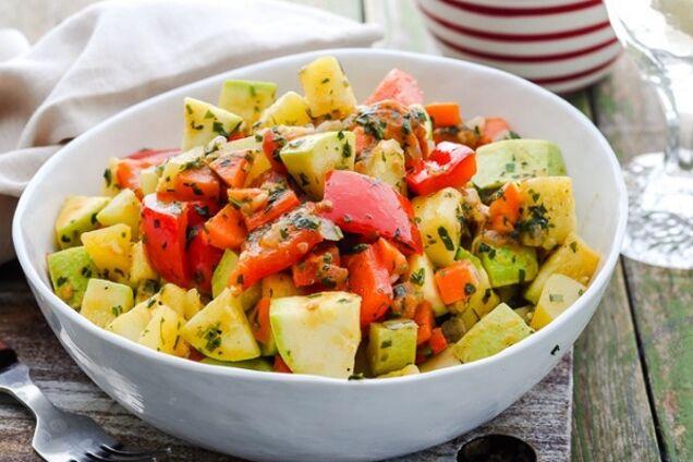 Овочеве рагу з капустою