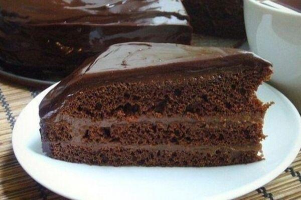 Шоколадный бисквит у мультиварке