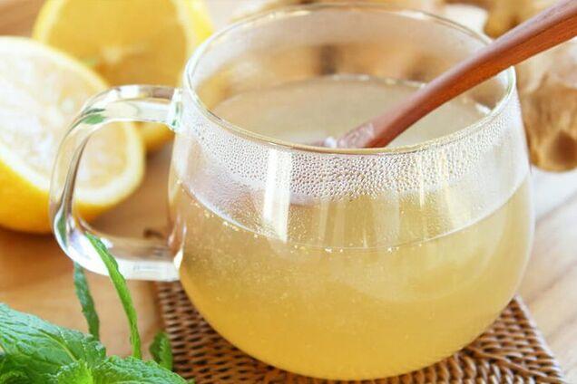 Імбирно-лимонний квас