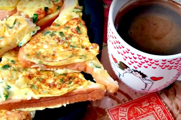 Смачний сніданок нашвидкуруч