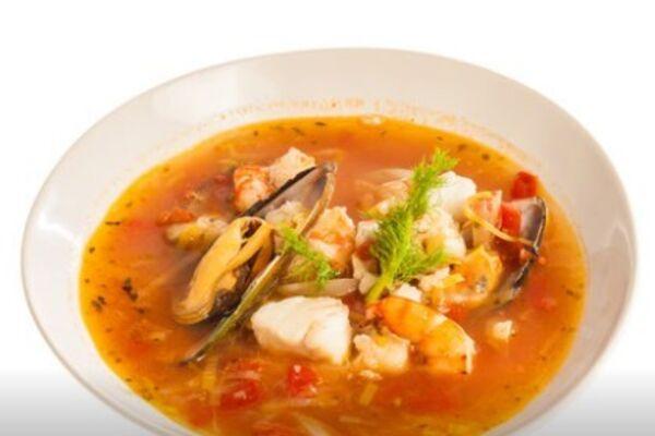 Французский суп ''Буйабес''