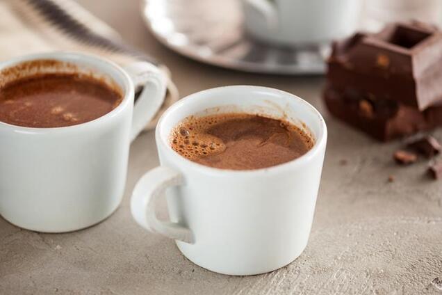 Какао на розбавленому молоці