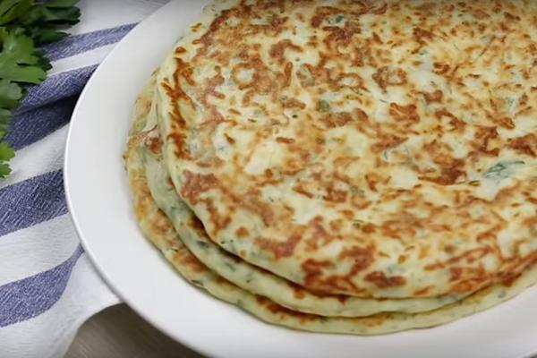 Завтрак из сыра и кефира