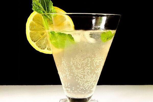 Імбирний ель з лимоном