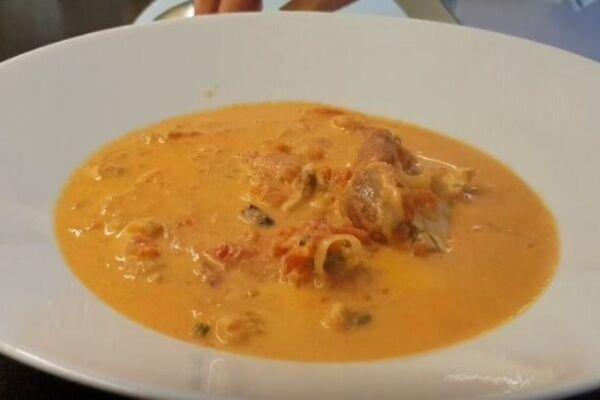 Суп рыбака из морепродуктов