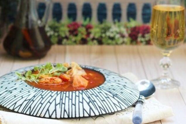 Суп корейских рыбаков
