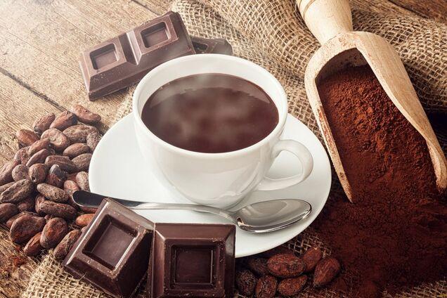 Какао зі згущеним молоком