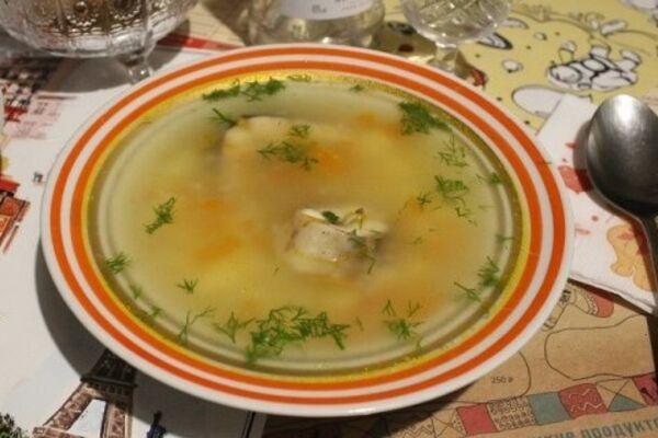 Суп степного рыбака