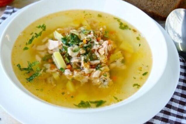 Суп рыбака из рыбного ассорти