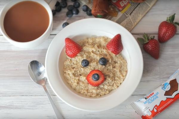 Завтрак для ребёнка
