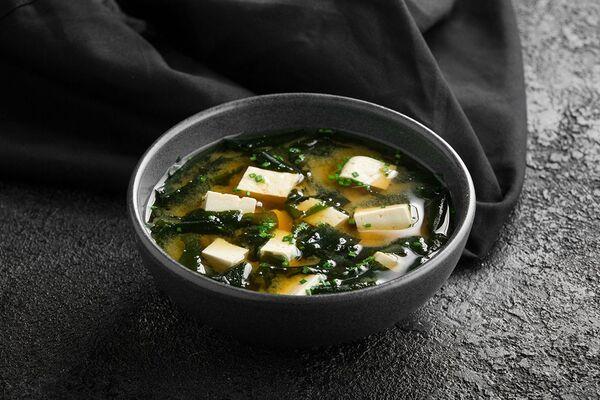 Місо-суп із зеленою цибулею