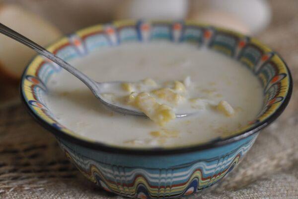Молочний суп ''Затируха''