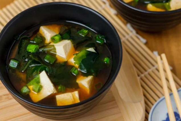 Місо суп із картоплею