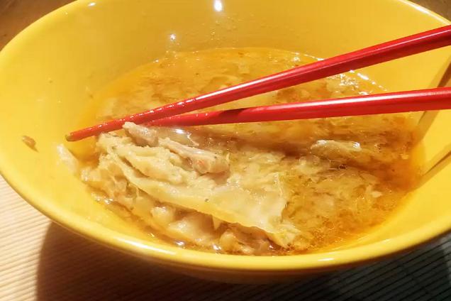 Мисо-суп с пекинский капустой