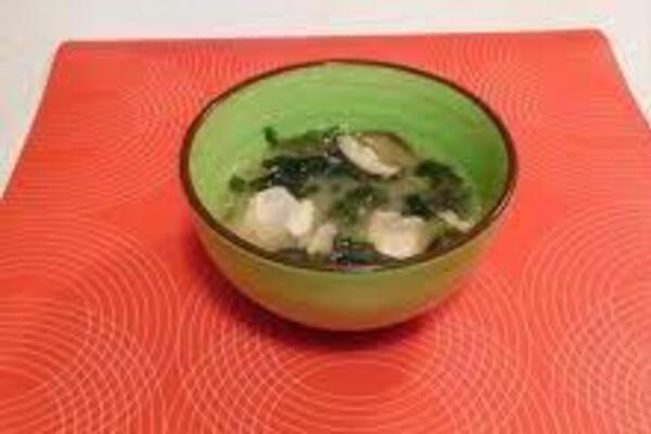 Місо-суп із червоною рибою