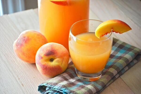 Персиковий сік без соковижималки