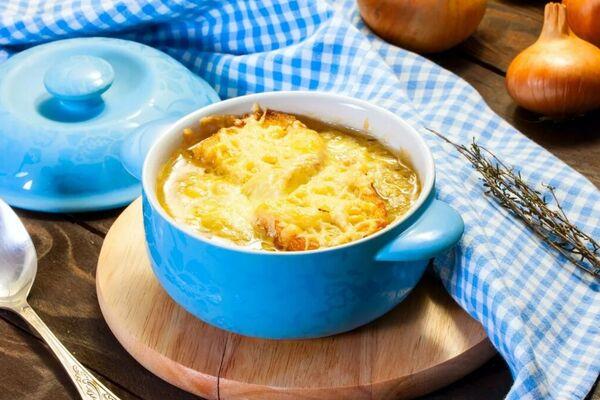 Цибулевий суп у горщику