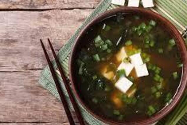 Місо-суп із рибним концентратом